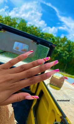 Glow Nails, Aycrlic Nails, Swag Nails, Coffin Nails, Gorgeous Nails, Fabulous Nails, Perfect Nails, Best Acrylic Nails, Acrylic Nail Designs