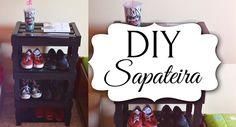 DIY / Faça você mesmo - Sapateira/Estante com caixas de feira
