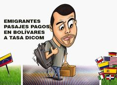 Pasajes aéreos en Bolívares para emigrar - AQUÍ  http://www.facebook.com/pages/p/584631925064466
