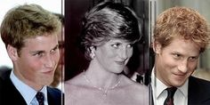 """The look."" They are their mother's sons. Prince William, Princess Diana and Prince Harry. Princess Diana and her Sons. Princesa Diana, Prince Harry, Prinz William, Lady Diana Spencer, Princess Of Wales, Queen Of Hearts, Famous Faces, British Royals, Duchess Of Cambridge"