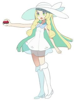 It's the girl from Friday (in the demo. She appear in the full game) Lillie !