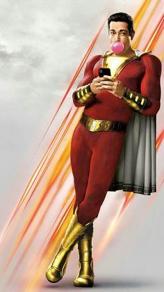 The new trailer for 'Shazam! So, can Shazam revive the DC Universe. Captain Marvel Shazam, Shazam Comic, Marvel Dc, Shazam Dc Comics, Superman, Batman, Film Vf, Dc World, Film Streaming Vf