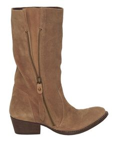 Look what I found on #zulily! Sand Charlotte Suede Boot by Rebels Footwear #zulilyfinds