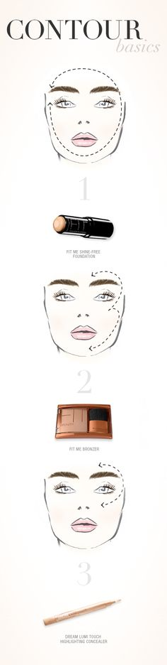 A little contouring goes a long way.