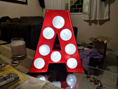 DIY Letra Luminosa