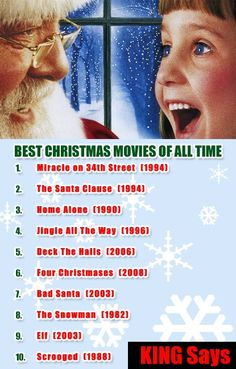 best christmas movies of all time - Best Christmas Movies Of All Time