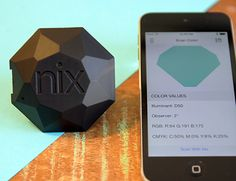 Nix Pro - Color sensor tool. capture and save colors from the real world.