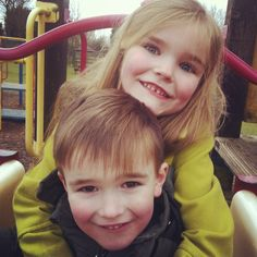 Amelia and Charlie Blackpool 2013