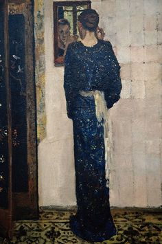 artishardgr:George Hendrik Breitner - The Earring 1893