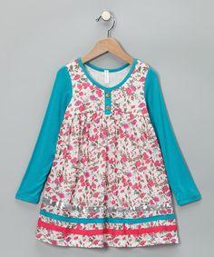 Picture Day Outfit!? Aqua Sequin Dress - Infant, Toddler & Girls #zulily #fall
