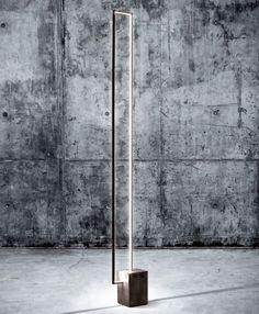 LED floor lamp MIRÉ LT - CINIER Radiateurs Contemporains