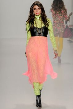See the complete Betsey Johnson Fall 2014 Ready-to-Wear collection.