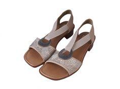 Rieker dámske sandále - béžové