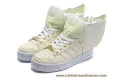 Nouveau Adidas X Jeremy Scott Wings 2.0 Glow In Dark Chaussures