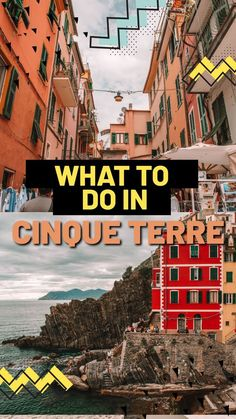 The Best Things to Do in Cinque Terre. The Cinque Terre is made up of five villages beginning with Monterosso al Mare, Vernazza, Corniglia, Manarola, and Riomaggiore. Each are nestled on the rocky coastline of the Rivera di Levante on the Ligurian coast. Italy Travel Tips, Travel Destinations, Italy Coast, Beautiful Ruins, Hidden Beach, Cinque Terre, Travel Guides, Things To Do, Around The Worlds