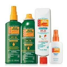 Skin So Soft Bug Guard Plus Collection #1 for $20.  www.youravon.com/janamomof3