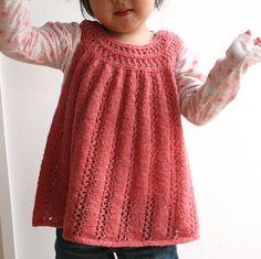 Knit toddler tunic