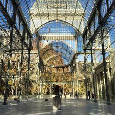 Palacio de Cristal. Madrid, Spain.