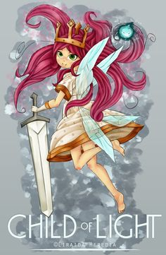 Child of Light Aurora by Yangspirit on DeviantArt