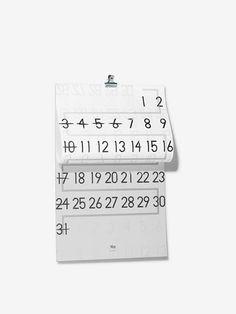 Ryosuke UEHARA(kigi) Creative Calendar, Calendar Design, Typo Poster, Calander, Japanese Style, Magazine Design, Editorial Design, Productivity, Packaging Design