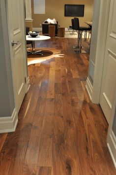 New Wood Floors for Basement