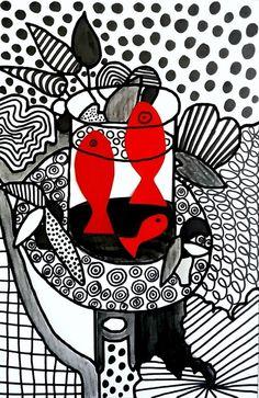 254_Noir et blanc_Du graphisme avec Matisse (24)