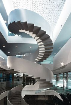 Actiu Technological Park - Spiral Staircase #architecture #stairs