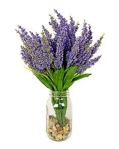 18in Purple Astilbe Water Jar