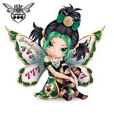 Shop The Hamilton Collection for Figurines Jasmine Becket-Griffith. Emo Disney, Mythical Dragons, Bratz, Gothic Fairy, Fairy Pictures, Fairy Figurines, Baby Fairy, Unicorn Art, Beautiful Fairies