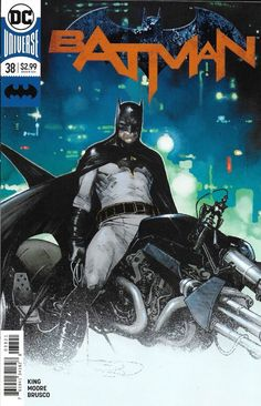DC Batman comic issue 38 Limited variant