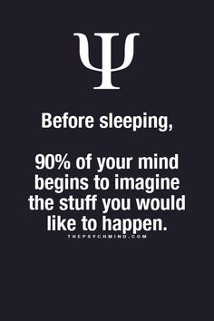And if you're like me, when you wake up at 3 am you imagine 100% of the things you don't want to happen!!!!