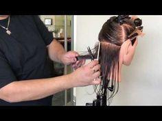 Corte de 90• grados .... para el exam de Cosmetología - YouTube