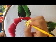 Servilleta deshilada # 4 con cony - YouTube