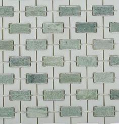 Trelis Ming Green and White Thassos_MAIN