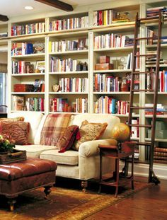 home library ladder - Google Search
