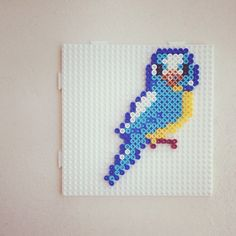 26(w)x16(h) pegs needed. Bird hama beads by catchfortywinks