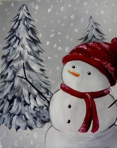 christmas paintings Christmas Tree Painting Canvases Kids Ideas For 2019 Christmas Paintings On Canvas, Christmas Tree Painting, Winter Painting, Christmas Drawing, Winter Art, Christmas Art, Christmas Projects, Diy Paintings On Canvas, Painted Christmas Tree