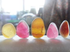 5 Pink and gold pretties  set of flawless sea by Alienstoatdesigns, $20.00