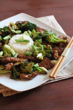 Beef and Broccoli with Mongolian Boss Sauce