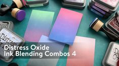 Distress Oxide Ink B