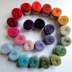 Holst garn yarn...My favourite!
