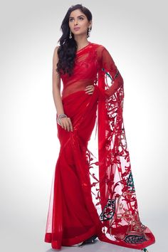 Satya Paul net sarees