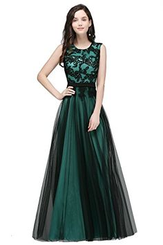 6494a9ce5d1 MisShow Womens Evening Prom Dresses Sleeveless Bridesmaid Wedding Gowns  Mint Green US2     Click