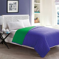 VCNY Ryder Reversible Quilt