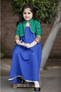 Kids Eid Dresses 2014 by Maria B
