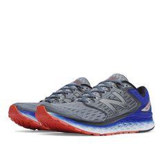 New Balance Fresh Foam 1080 Men's Shoes - Silver / Blue / Flame