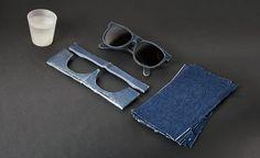 Mosevic - óculos feito com jeans
