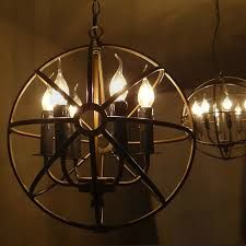 rod iron look candle lighting - Google Search
