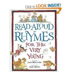 Gr 1 - Read-Aloud Rhymes for the Very Young - Jack Prelutsky - Amazon