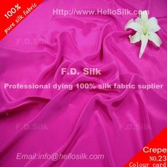http://www.silkfabricwholesale.com/12mm-silk-crepe-de-chine-fabric-plum-purple.html  F.D. silk most professional 12mm silk crepe de chine fabric-plum purple supplier.